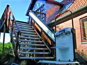 Your Vimec V64 Wheelchair Platform Stair Lift can be serviced by one of many Gb Lifts, Hoists and Cranes trained technicians