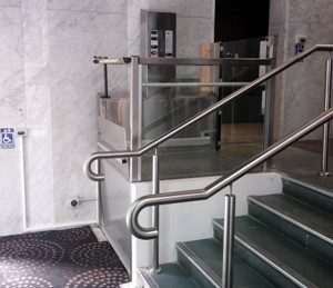 GBE Group can provide lift maintenance and installation to your Vestner commercial disabled lift