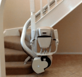 Thyssenkrupp – Flow II Curved Stair lift